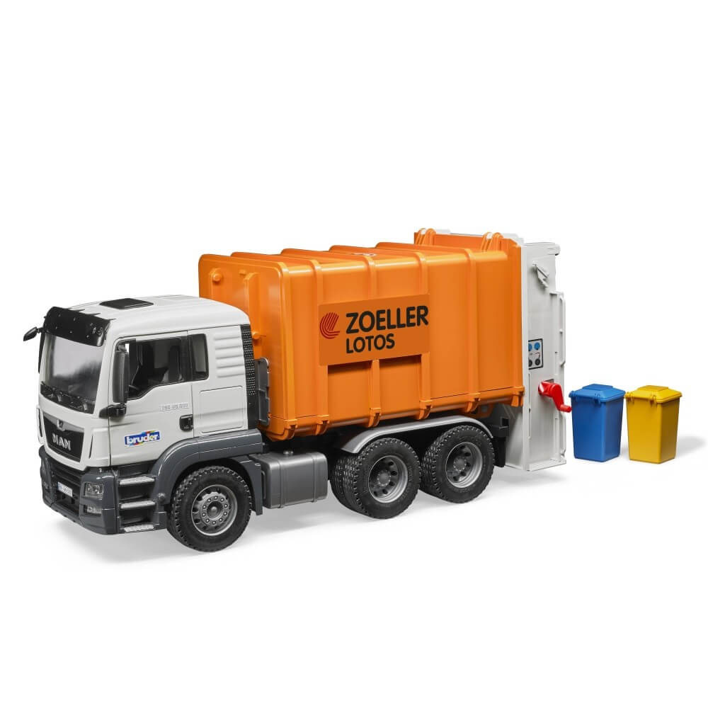 Caminh 245 Es De Lixo De Brinquedo E Miniatura Bruder Brasil
